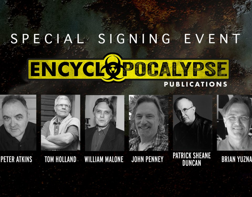 Encyclopocalypse signing event